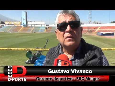 GUSTAVO VIVANCO NOS HABLA SOBRE EL ESTADIO MELGAR