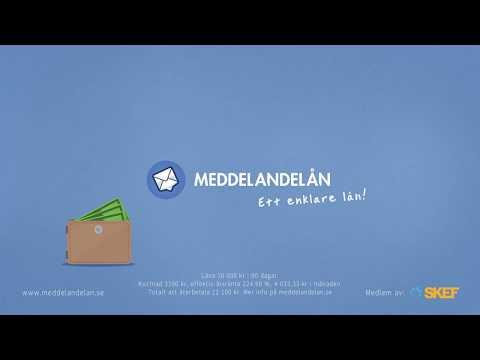 Meddelandelån Video