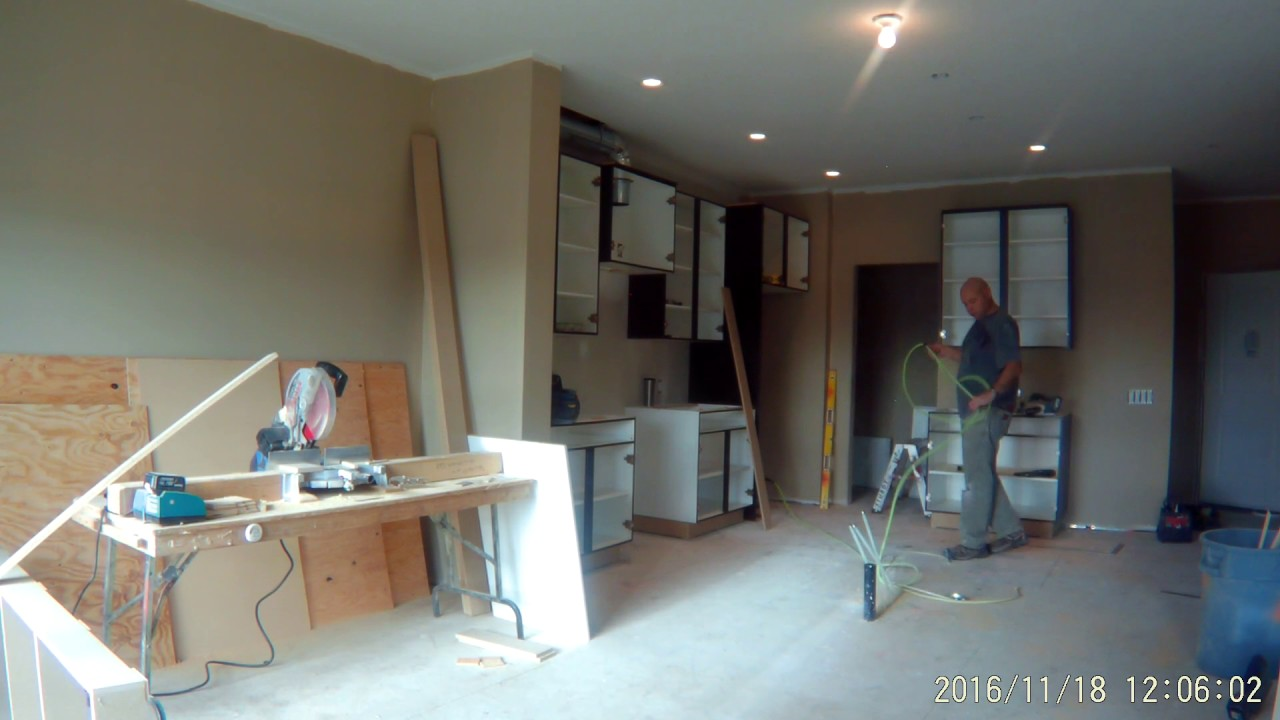 Westridge Cabinets Full Kitchen Cabinet Install....Time Lapse