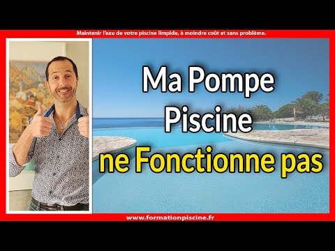 ma pompe piscine ne fonctionne pas youtube. Black Bedroom Furniture Sets. Home Design Ideas