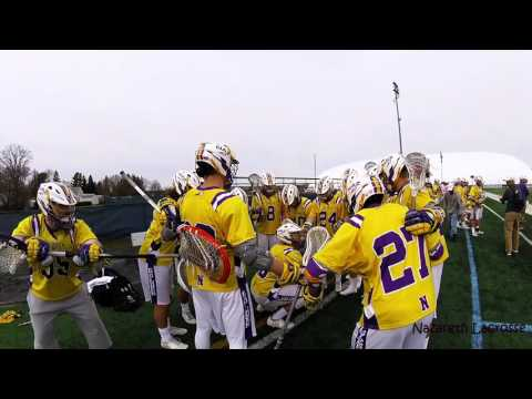 Nazareth Lacrosse Celebrations (Most energetic sideline in college lacrosse)
