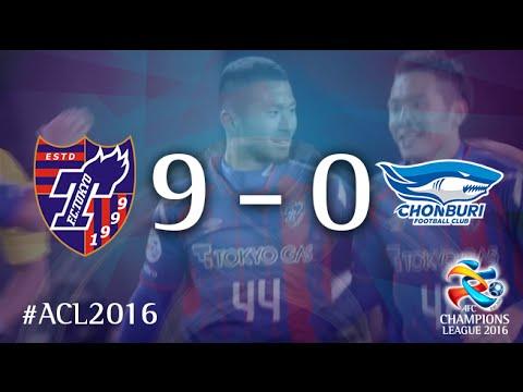 FC TOKYO vs CHONBURI FC: AFC Champions League 2016 (Playoffs)