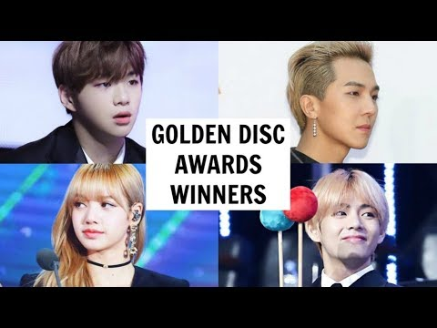 GOLDEN DISC AWARDS 2019 WINNERS