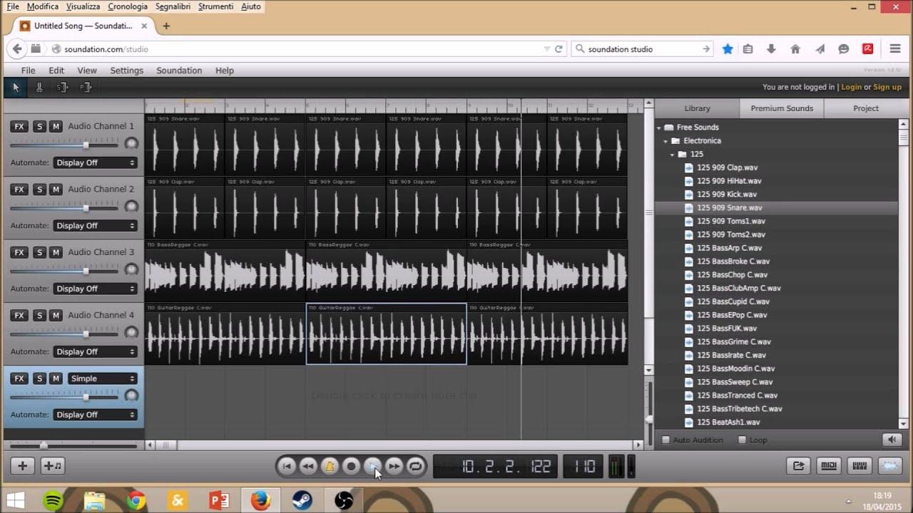 Come creare musica gratis online youtube for Programma per arredare casa on line gratis
