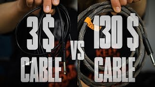 Guitar cable comparison: Unshielded Cable vs Vovox Sonorus - Does it have to be an expensive one?