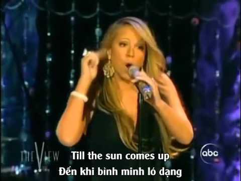 [Vietsub+Lyric] We Belong Together - Mariah Carey (Live on The View)