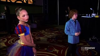 Dance Moms - Maddie's Solo 'Reflections' VS Justice's Solo 'Keep The Faith' (S2 E11)