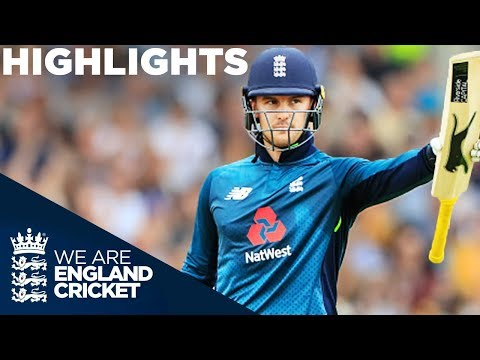 Roy Hits Ton In England's 2nd Highest Run Chase | England v Australia 4th ODI 2018 - Highlights