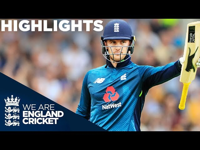 Roy Hits Ton In England's 2nd Highest Run Chase | England v Australia 4th ODI 2018 