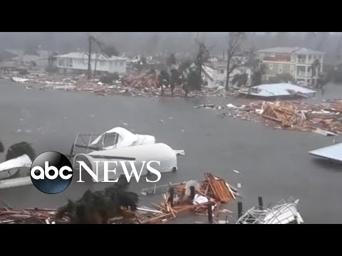 Inside Hurricane Michael as it made landfall