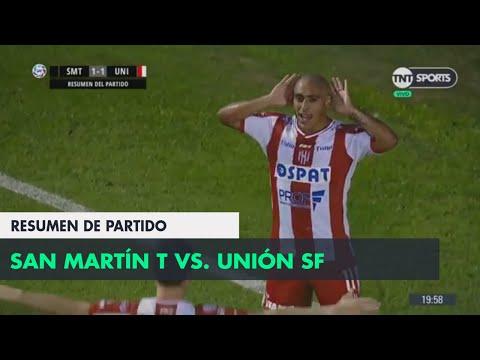 Resumen de San Martín T vs Unión SF (1-1) | Fecha 2 - Superliga Argentina 2018/2019