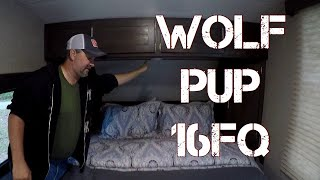 2019 Forest River Cherokee Wolf Pup 16FQ Review and Walk-Thru