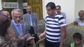 بالفيديو| محافظ شمال سيناء: الدولة لن تتخلى عن المصابين وأسر الشهداء