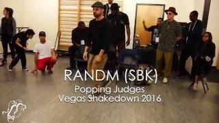 RANDM (Soulbotics Krew) Popping Judges Showcase Vegas Shakedown #SXSTV