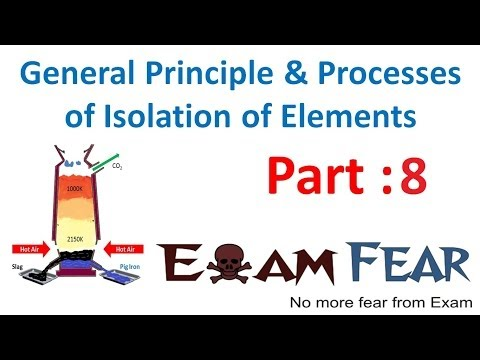 Chemistry Isolation of Elements part 8 (Thermodynamics principle Application) CBSE class 12 XII