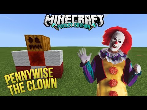 How To Spawn Pennywise The Clown From It | Minecraft PE | Scary Movie Addon