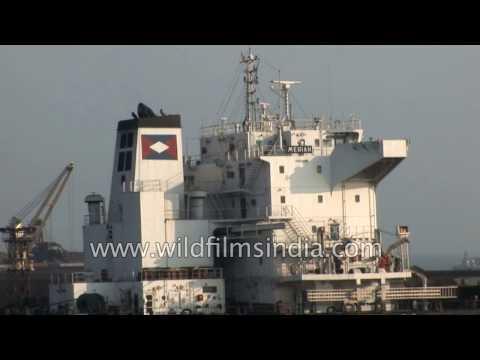 India's east coast shipping and cargo hub: Paradip Port in Orissa