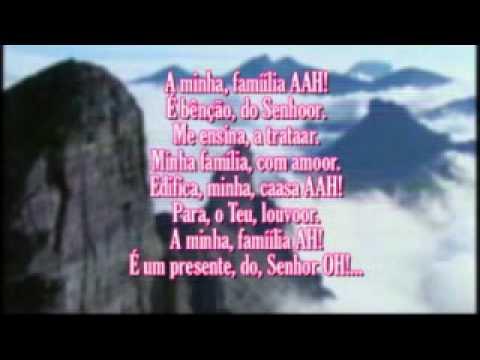 Regis Danese Família VOZ Com letra avi YouTube