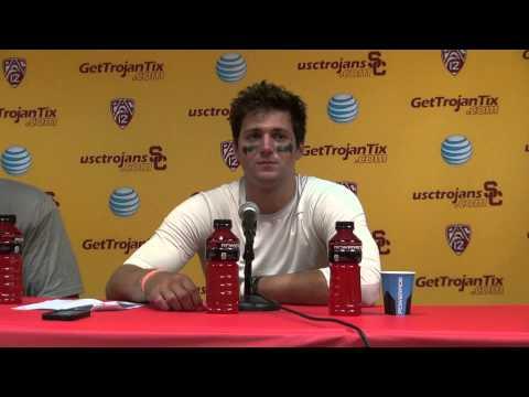 Cody Kessler and George Uko talk the media after Utah State Game