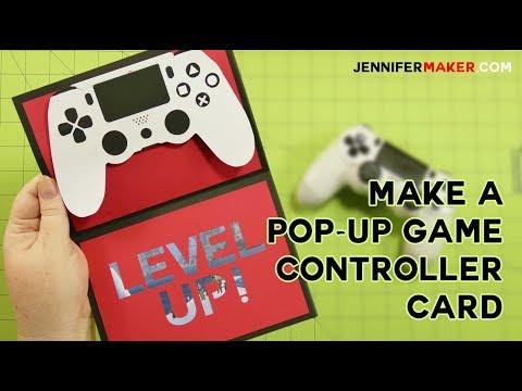 Pop-Up Game Controller Card Tutorial