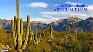 AbdulSubhan   Nature & Naturaleza - Happy Birthday