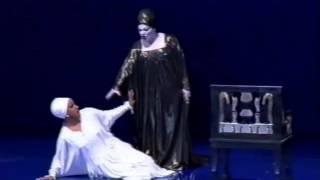 Nina Rautio - Verdi  - Aida - 2 Act - Fu la sorte dell'armi (Amneris, Aida)