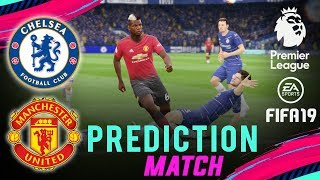 Download Video CHELSEA vs MANCHESTER UTD | FIFA 19 EPL Predict Matchday 9 | Broadcast Camera - 1080HD MP3 3GP MP4