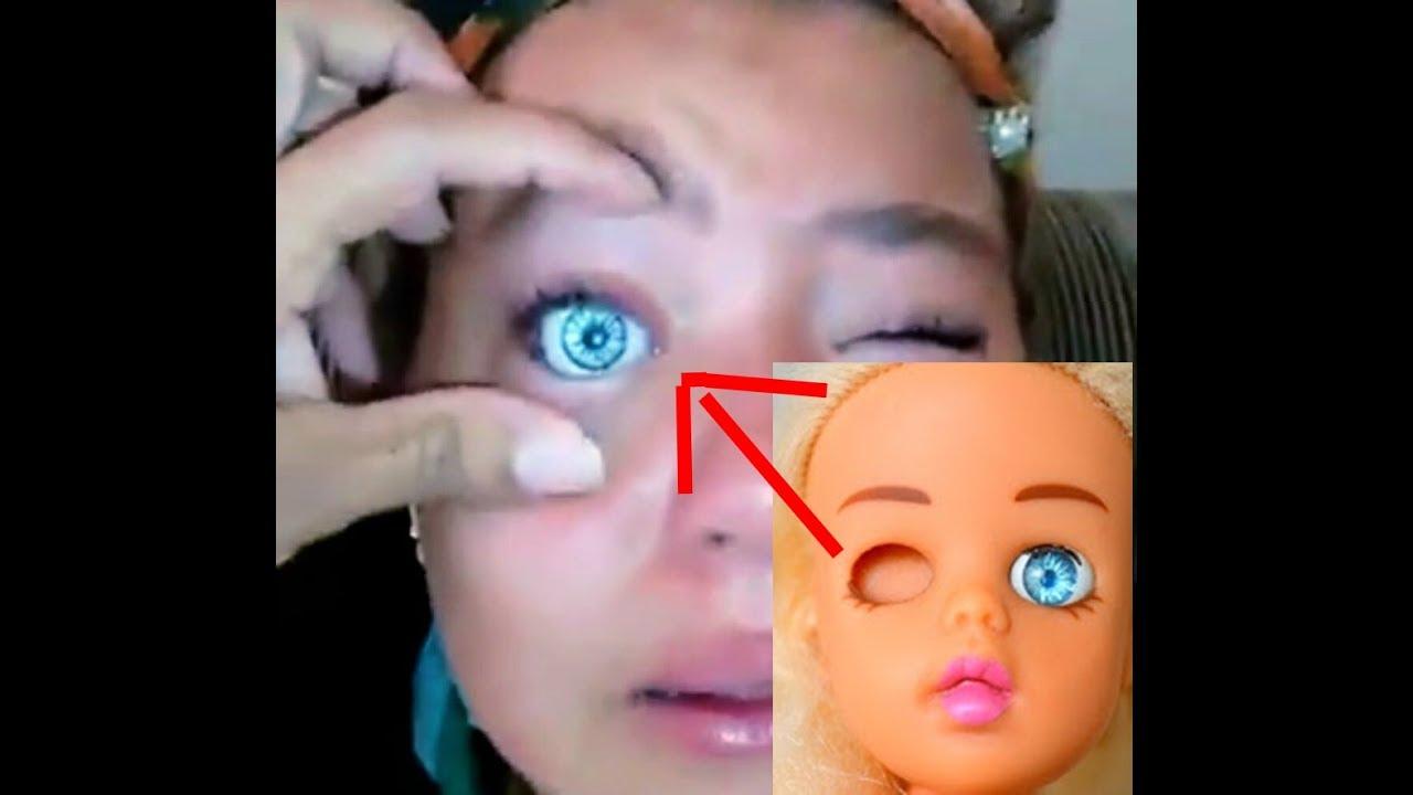 Resultado de imagem para mãe da menina de olho de boneca
