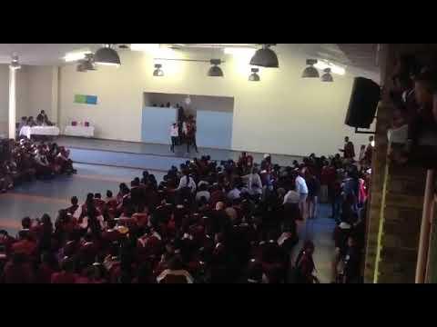 Skeem saburhashu performing  Ganja party at Sophumelela High school