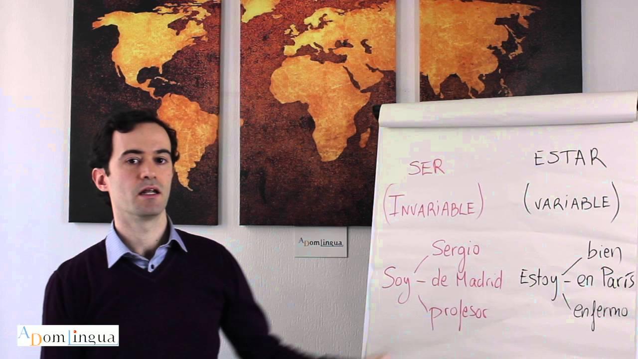 Le Verbe Etre En Espagnol Youtube