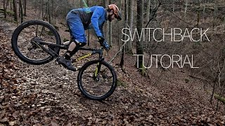 Switchback turorial / how to endo a tight corner german -SUBTITLED- | mtb skills