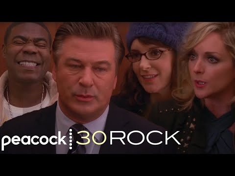 30 Rock - Liz, Jack, Tracy and Jenna Discuss Their New Year's Eves