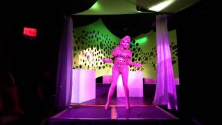 Trixie Mattel performing Brooke Candy at Drag Carnage: GayGlow on 9/26/14