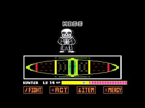 Undertale: Sans Fight With Hacks