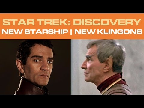 Thumbnail: Star Trek: DISCOVERY - NEW Starship | NEW Klingons (Part 1/2)