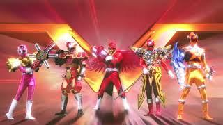 Super Sentai Srontgest Battle Opening (Saikou Saikyou Super Stars   NoB )