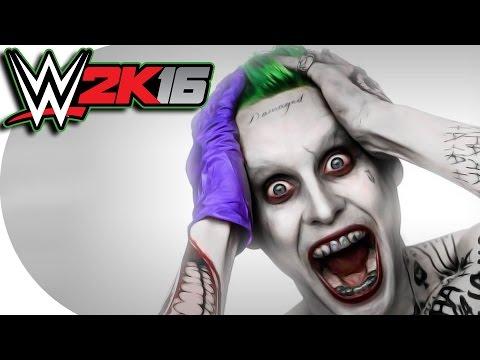 WWE 2K16 / Joker Vs Batman! (CaRtOoNz Vs H2O Delirious)
