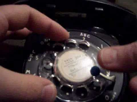 hqdefault rotary telephone take apart (dial center removal) youtube  at creativeand.co
