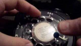 Rotary Telephone take apart (Dial center removal)