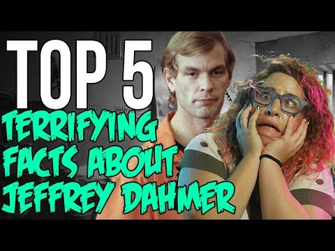 Top 5 Facts About Jeffrey Dahmer - Famous Serial Killers // Dark 5 | Snarled