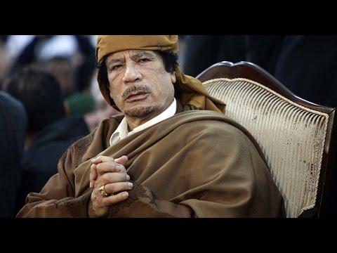 Les derniers instants de Kadhafi