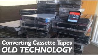 Converting my old cassette tapes