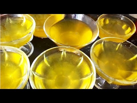 НЕ ДЕСЕРТ, А СКАЗКА! ЛИМОННОЕ ЖЕЛЕ - вкусно, просто и доступно! ИЗ ОДНОГО ЛИМОНА!