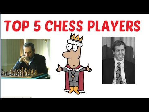 Top 5 chess players of all time ANIMATED