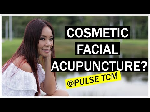 Cosmetic Facial Acupuncture at Pulse TCM |Acupuncture Facelift|Gua Sha