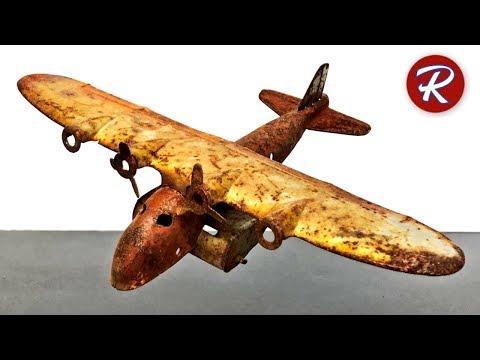 1930s Wyandotte Toy Airplane Restoration
