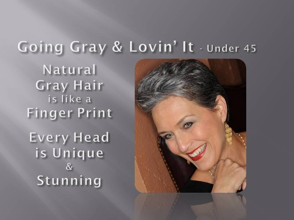 how to keep natural grey hair from yellowing