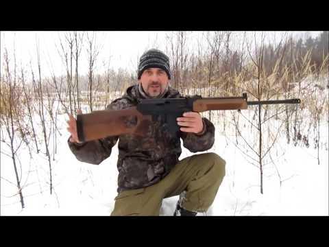 Карабин Вепрь ВПО-221 (9.6х53 Ланкастер)// Русский слонобой..!))