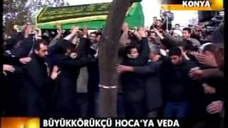Tahir Büyükkörükçü hocaefendi cenaze namazı 6 Mart 2011