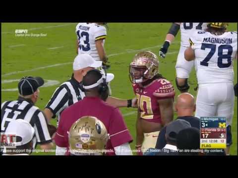 (Orange Bowl) Michigan Wolverines vs Florida State Seminoles in 30 Minutes - 12/30/16